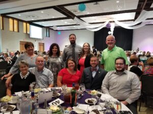 USB Family at the Sanctuary Dinner